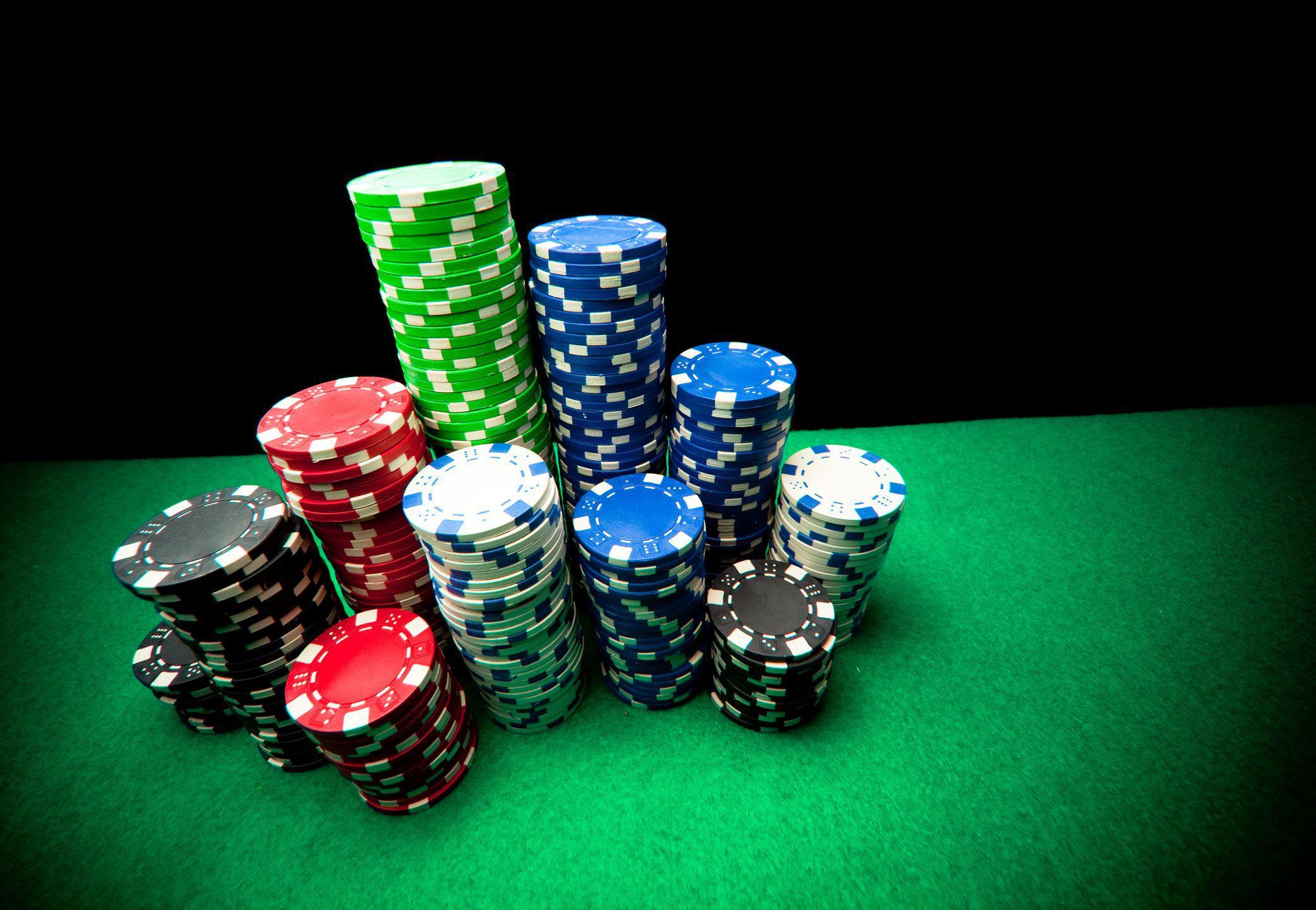 Стек фишек для покера