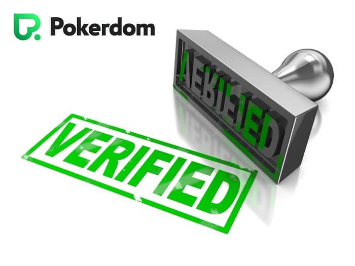 Верификация на ПокерДом.